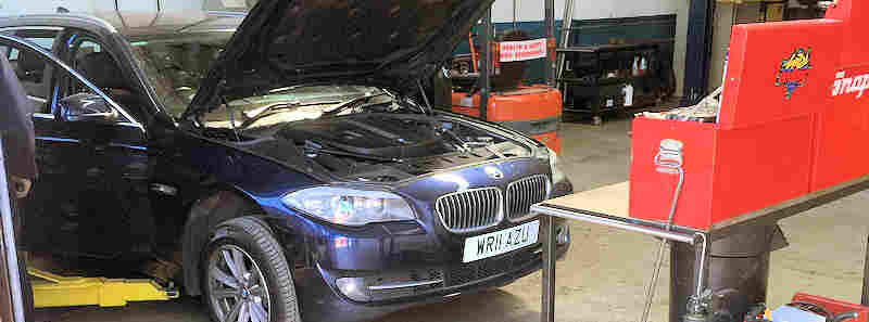 bmw car servicing